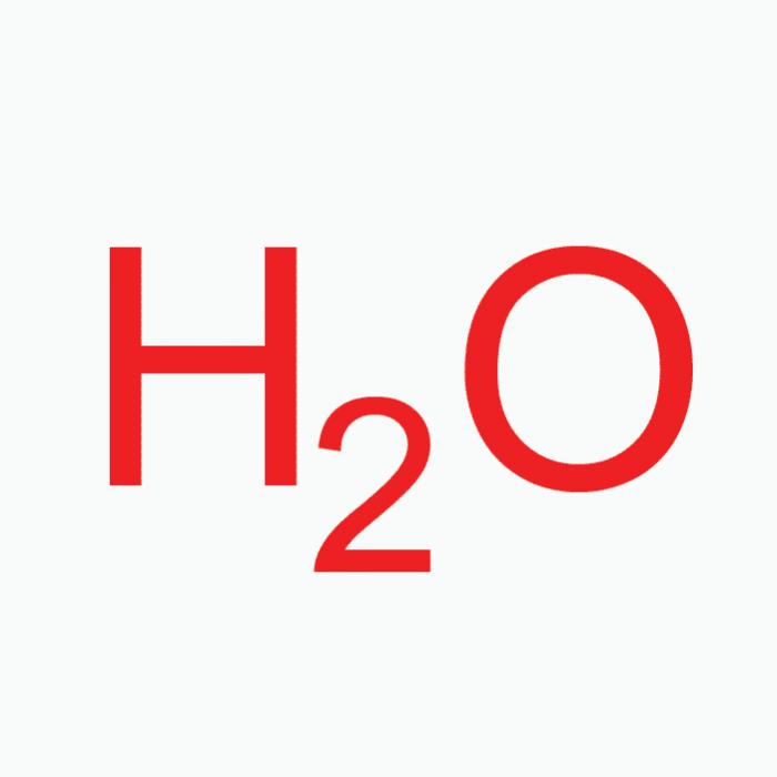 Deionized Water – Solvent, 50mL