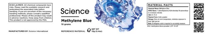 Methylene Blue – Powder, 10g