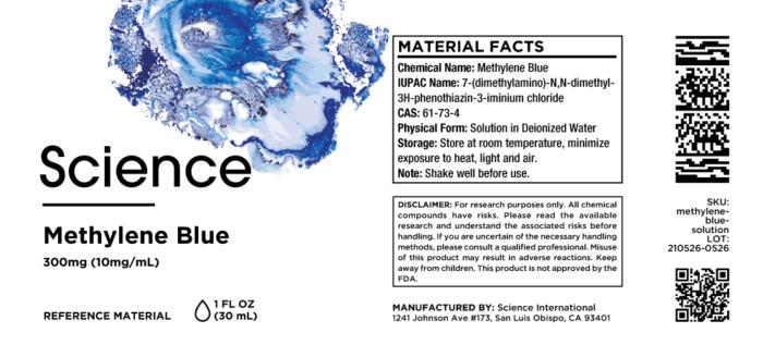 Methylene Blue – Solution, 300mg (10mg/mL)