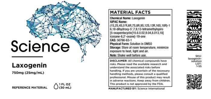 Laxogenin – Solution, 750mg (25mg/mL)