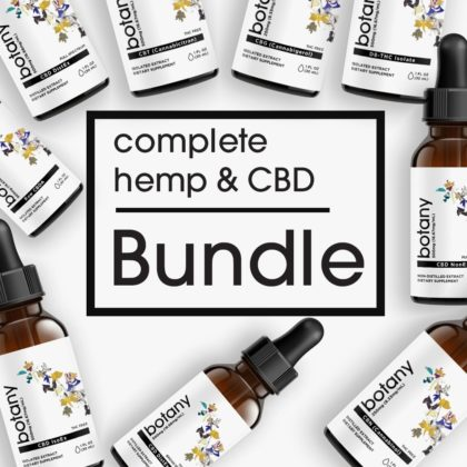 Complete Hemp & CBD Bundle – Liquid Set