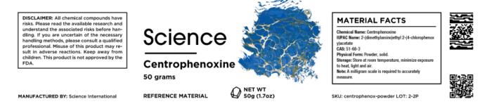 Centrophenoxine – Powder, 50g