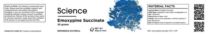 Emoxypine Succinate – Powder, 20g