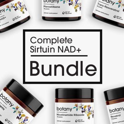 Complete Sirtuin NAD+ Bundle - Powder Set