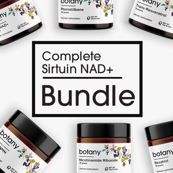 Complete Sirtuin NAD+ Bundle – Powder Set