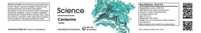 Cardarine (GW501516) – Powder, 1g