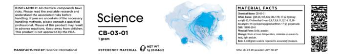CB-03-01 – Powder, 1g
