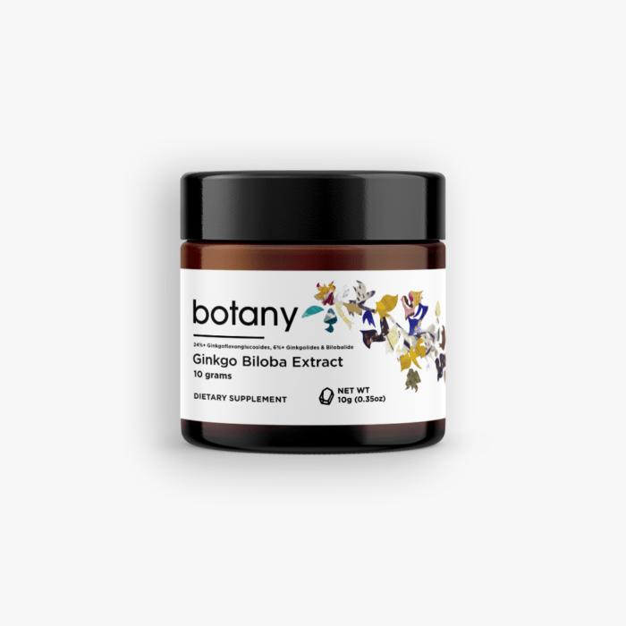 Ginkgo Biloba Extract   24%+ GFGs, 6%+ Lactones – Powder, 10g