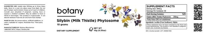 Silybin (Milk Thistle) Phytosome – Powder, 10g