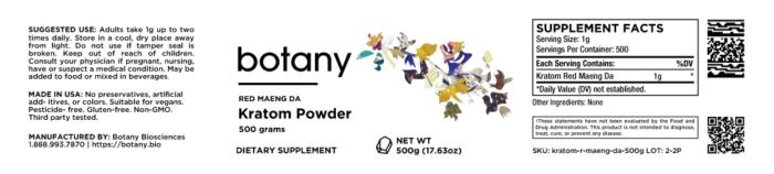 Kratom Green Vietnam – Powder