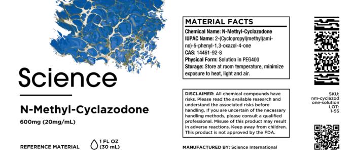 N-Methyl-Cyclazodone – Solution, 600mg (20mg/mL)