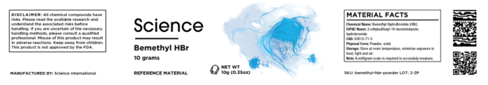 Bemethyl HBr – Powder, 10g