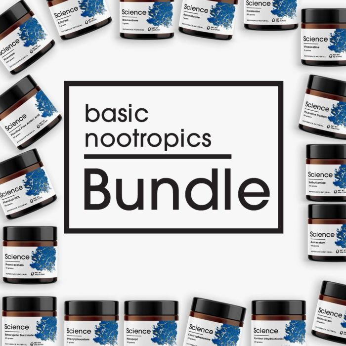 Basic Nootropics Bundle – Powder Set