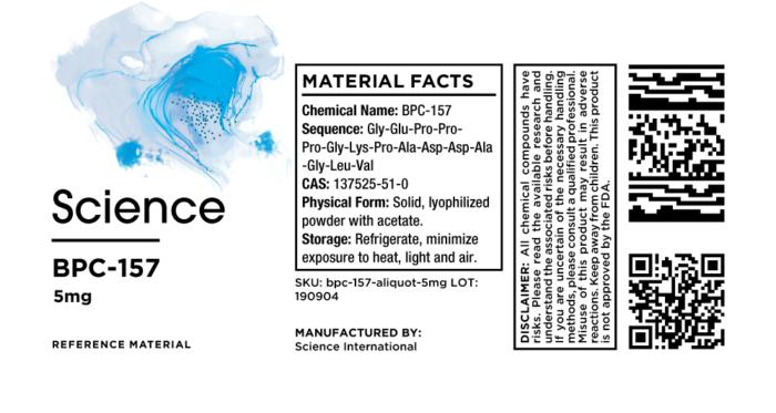 BPC-157 Acetate – Aliquot