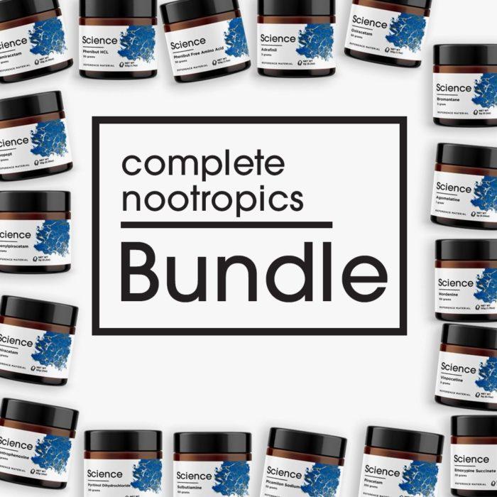 Complete Nootropics Bundle – Powder Set