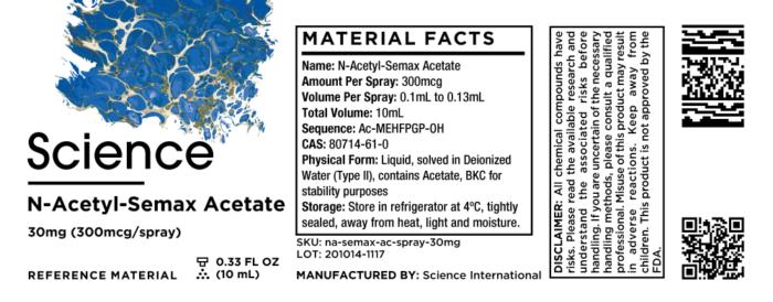 N-Acetyl-Semax Acetate – Spray