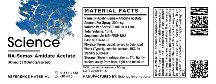 N-Acetyl-Semax-Amidate Acetate – Spray