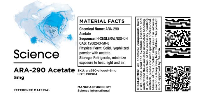 ARA-290 Acetate – Aliquot, 5mg