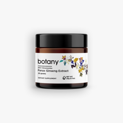 Panax Ginseng Extract | 80%+ Ginsenosides – Powder 20g