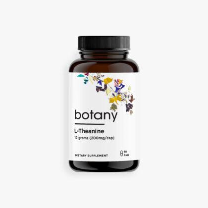 L-Theanine – Capsules, 12g (200mg/cap)